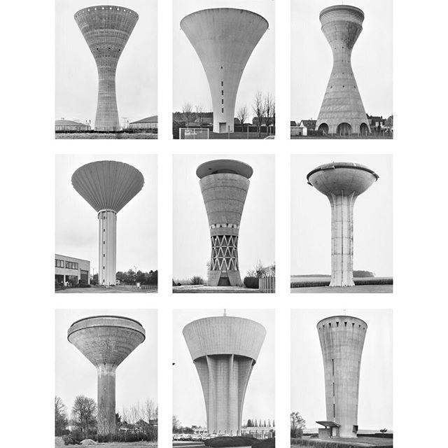 Bernd & Hilla Becher | Water Towers