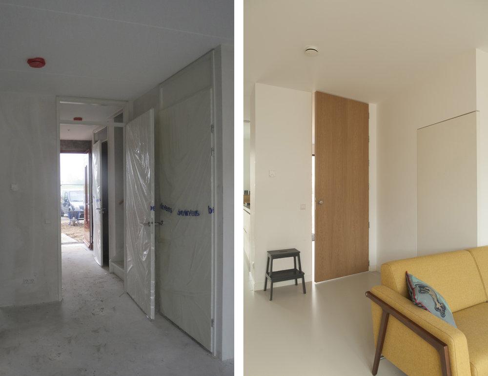 Interieur Woonkamer Eiken : Interieur woonhuis weesp u nerf meubels op maat