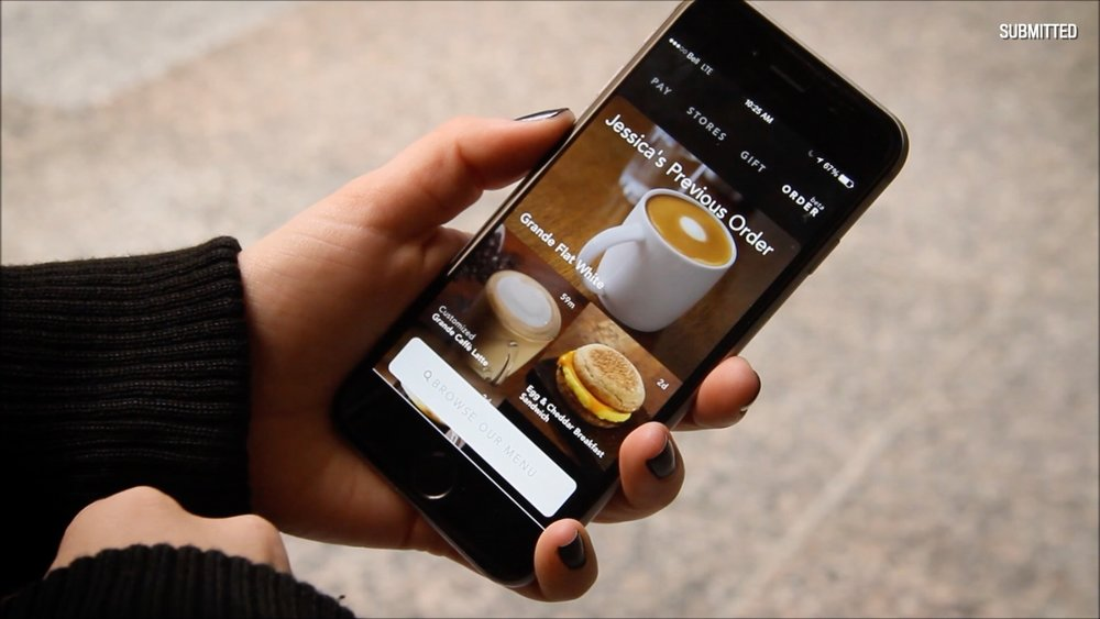 Starbucks App - Earn a free Starbucks drink by just downloading the app!