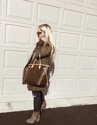 Shop my Neverfull LV bag here!
