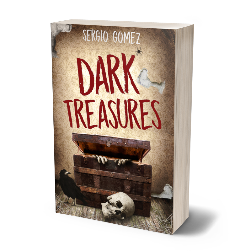 Dark Treasures - Don't be afraid of the dark. Sometimes there's treasure in it. A shunned clown with a murderous plot fueled by jealousy, a hungry creature living in the sewers of a small town, a haunted board game that pits friends against each other in a game of life and death, a grim spin on a childhood tale, and four other stories that will grip you and won't let go until the last page.Buy now on Amazon