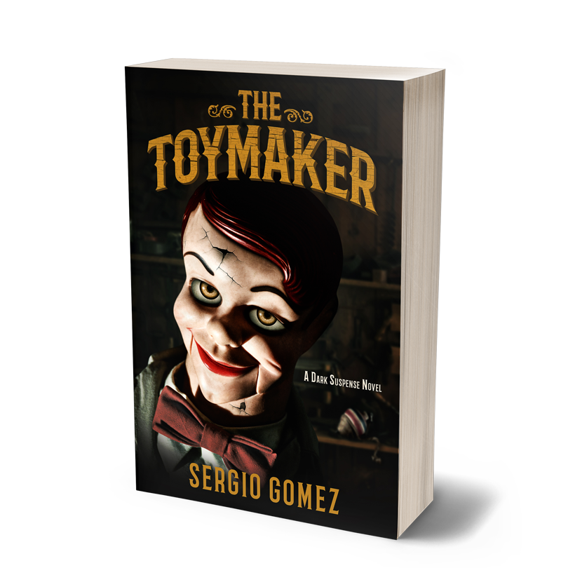 The Toymaker: A Dark Suspense Novel - Raymond Gibson has been lonely in his old age, having never married and losing all his friends to time. Inspired by a ventriloquist act he sees on the television, he builds a dummy of his own. Unbeknownst to the residents of Dutch County, Mr. Gibson's wooden companion becomes possessed by a wicked spirit. Now, five neighborhood kids will have to band together to defeat the evil only they believe is real. The power of their friendship will be the one hope to stop the dummy's terror. Buy now on Amazon
