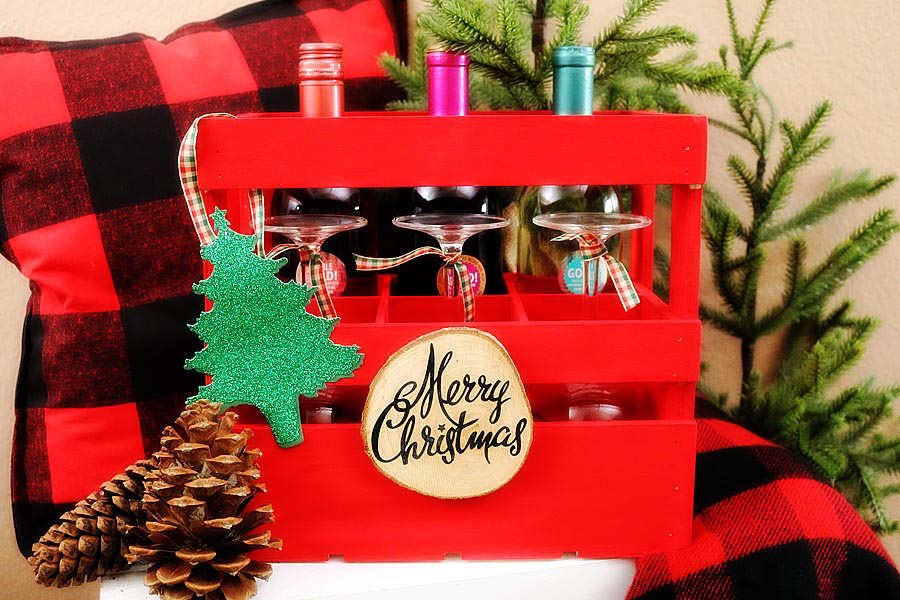 Holiday Wine Crate