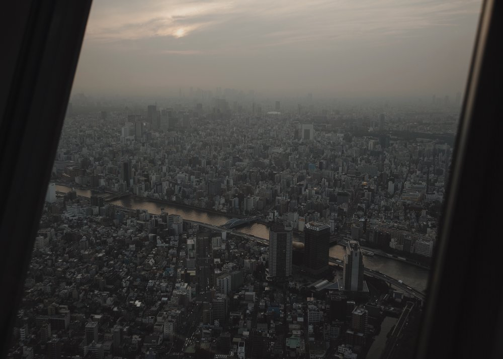 Up the Tokyo Skytree