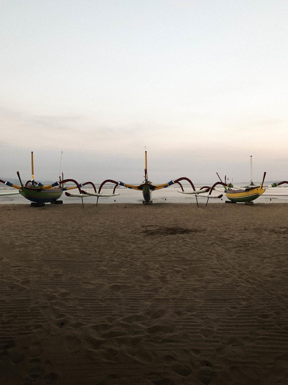 Sanur Beach in Bali, Indonesia