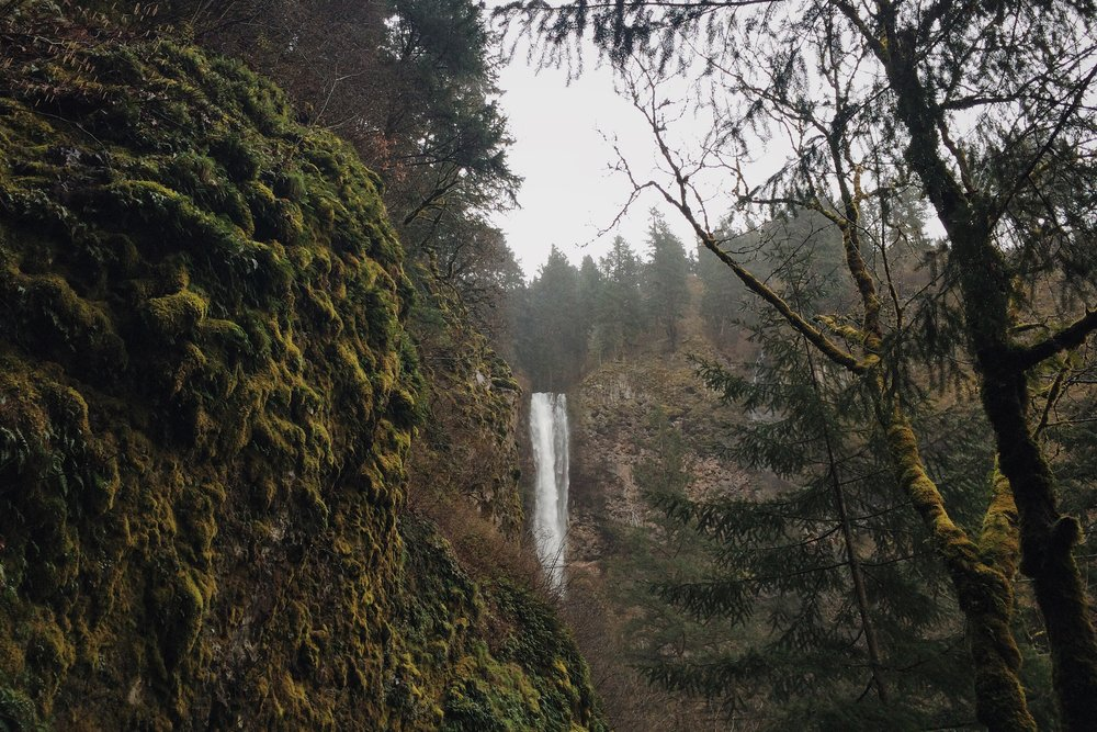 Multnomah Falls near Portland Oregon