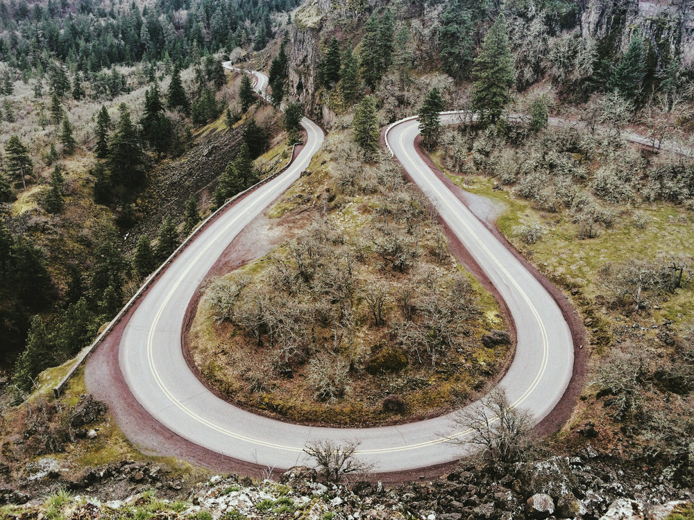 Rowena Crest in Portland Oregon