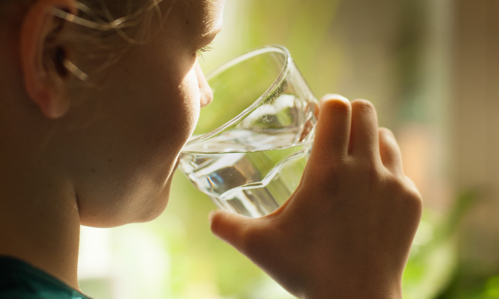Did you know it's important to stay hydrated? -