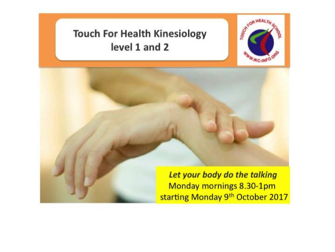 Our new Touch for Health Level 1 & 2 course has launched!   - Taught by our own licensed teachers from the IKC, a new group of students began their studies and learnt muscle monitoring techniques to evaluate energy imbalances. We are excited to be working with them.