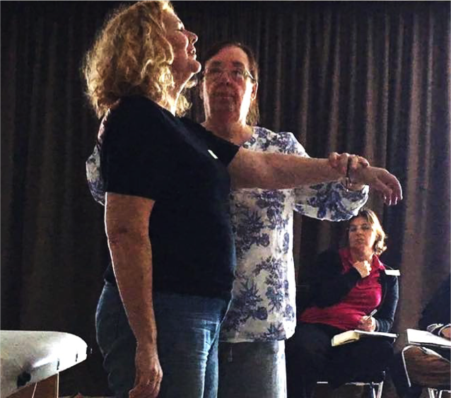 5 Elements, Posture and Reflexes with Irene Lock - What an amazing course! We learnt to balance active primitive reflexes using Touch For Health.We loved Irene's clear, concise and compassionate teaching.