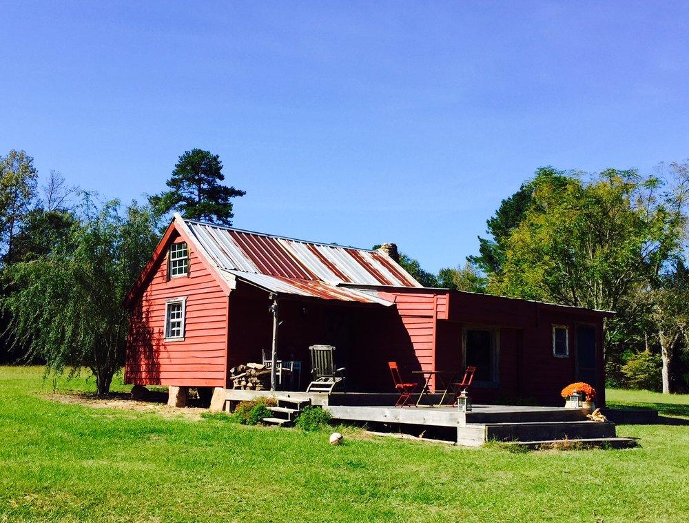 The original cabin