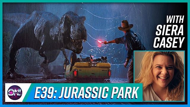 My sister bear was on my podcast. So of course we talked about Jurassic Park! Head over to @nerdonthepodcast and click the link in the bio to listen! #jurassicpark #nerdon
