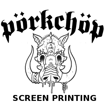 Pork Chop Screen Printing