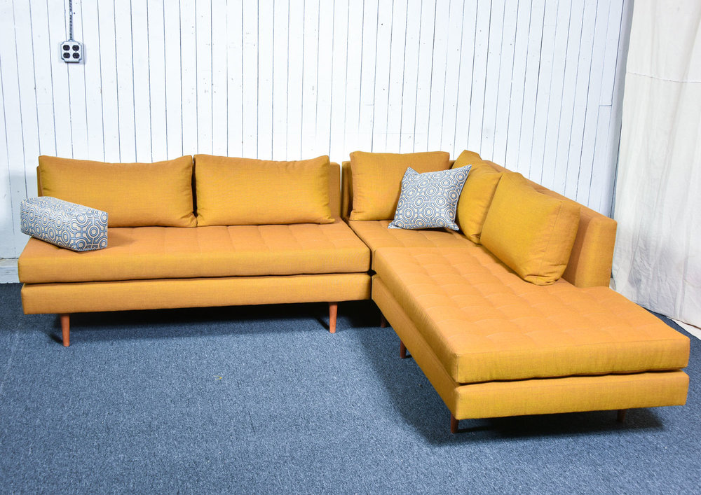Shown: 3-piece group with corner, armless, and halfback.