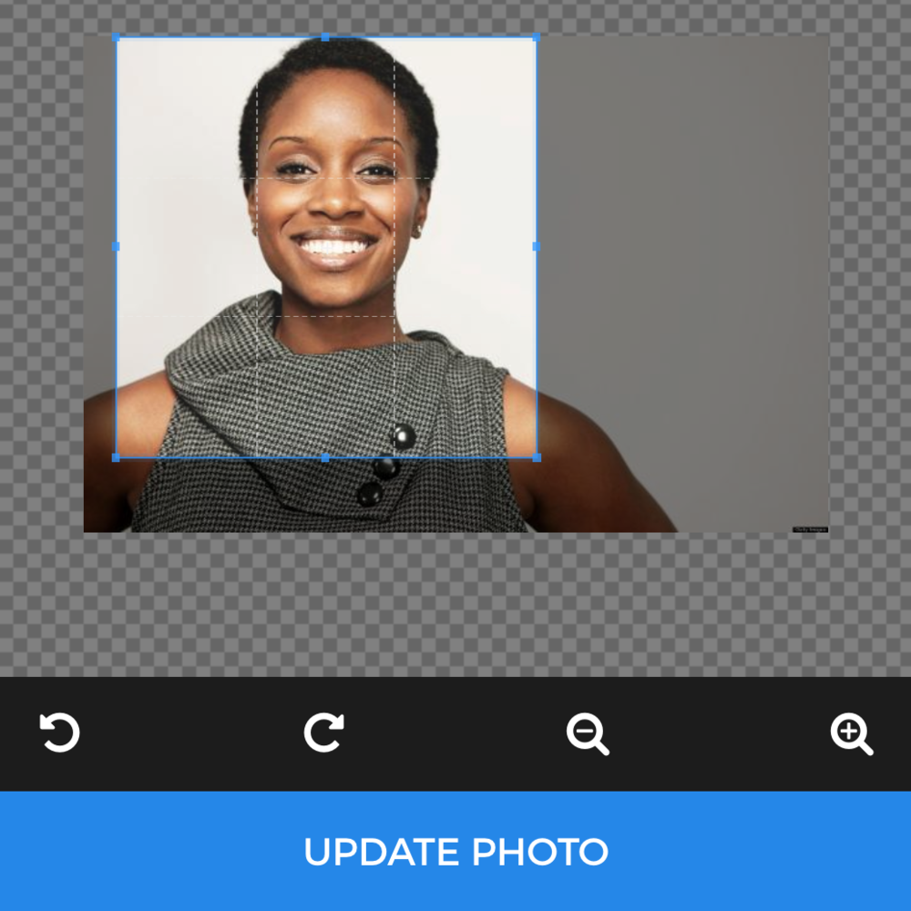 """Submit your photo and """"Helper Bot""""does the rest. He auto-crops your photo, qualifies it based on requirements, and sends you an email to let you know if it has been approved or denied."""