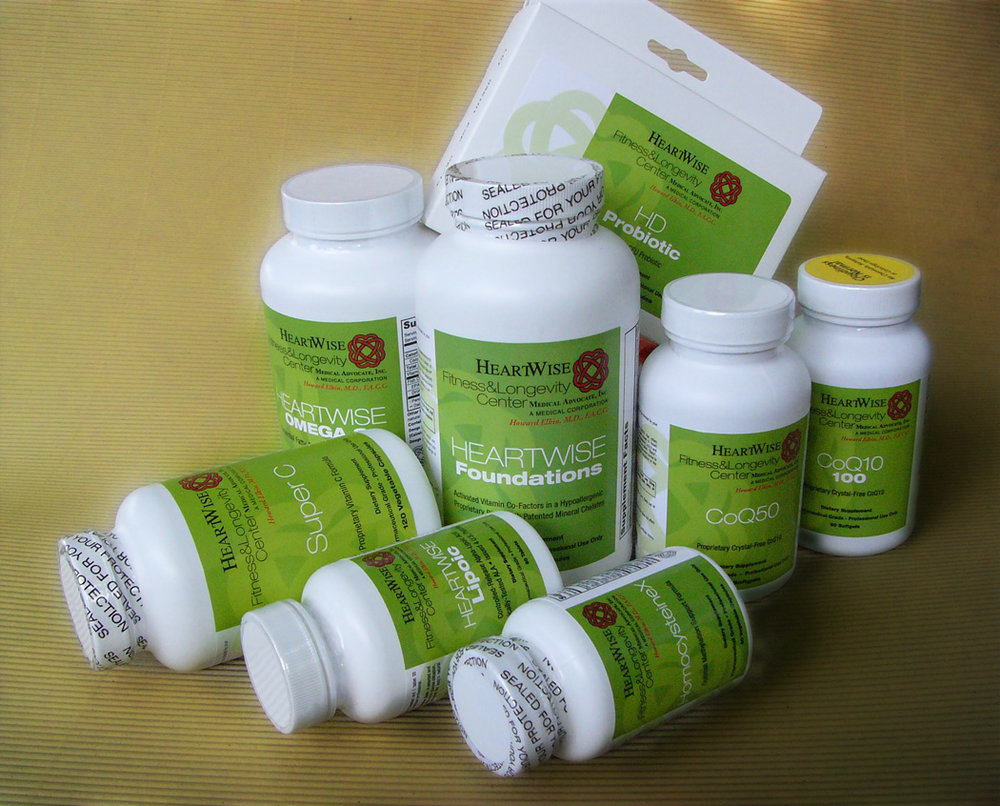 Available in Office Now!  - You have a choice when it comes to purchasing nutritional supplements. Here at HeartWise Fitness and Longevity Center, we are committed to providing excellent care to our patients as well as products that meet our professional standards of both quality and efficacy. Read more