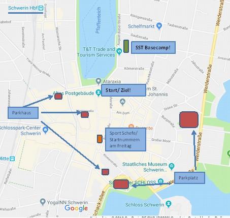 - Am Besten natürlich mit dem Zug/ Bus. Vom Bahnhof (Zug/ Bus) sind es nur 500m zum Basecamp. Wer nicht anders kann findet auf der Karte die nötigen Parkplätze. Wie ihr bis dorthin kommt, verraten euch die Bahn oder aber eure Navis am Besten.PS: Der nächste Flughafen ist gefühlt 1.268.491 km weit weg…