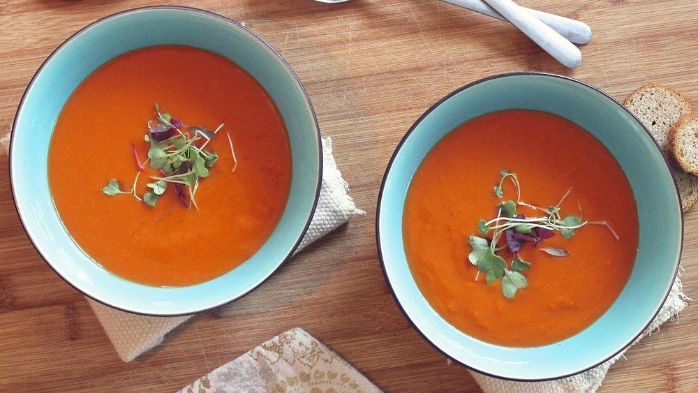 SOUP & SALADS -