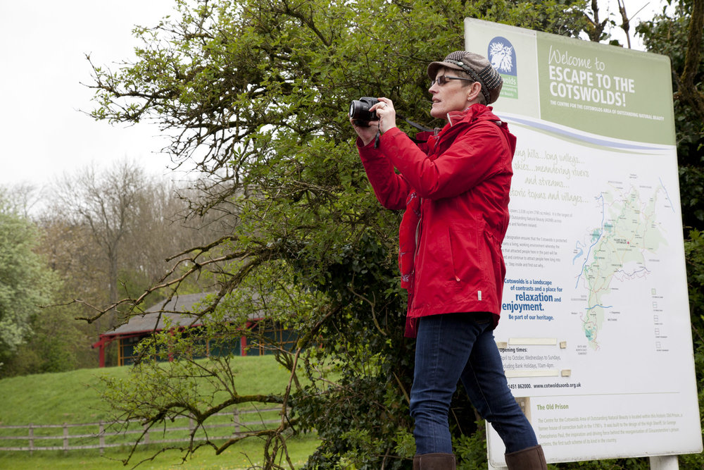 Visual storytelling training with members of the Cotswold Conservation Board