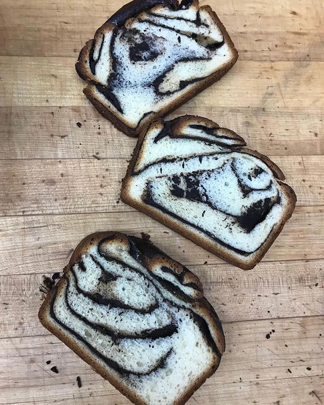 Come grab a slice of @theochocolate and tahini #babka from us at the central connector park in Redmond tonight from 5PM-10PM! #redmondsobazaar