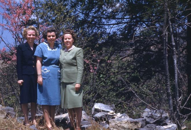 Naomi Sundberg, Winifred Swenson and Gladys Anderson (1947)
