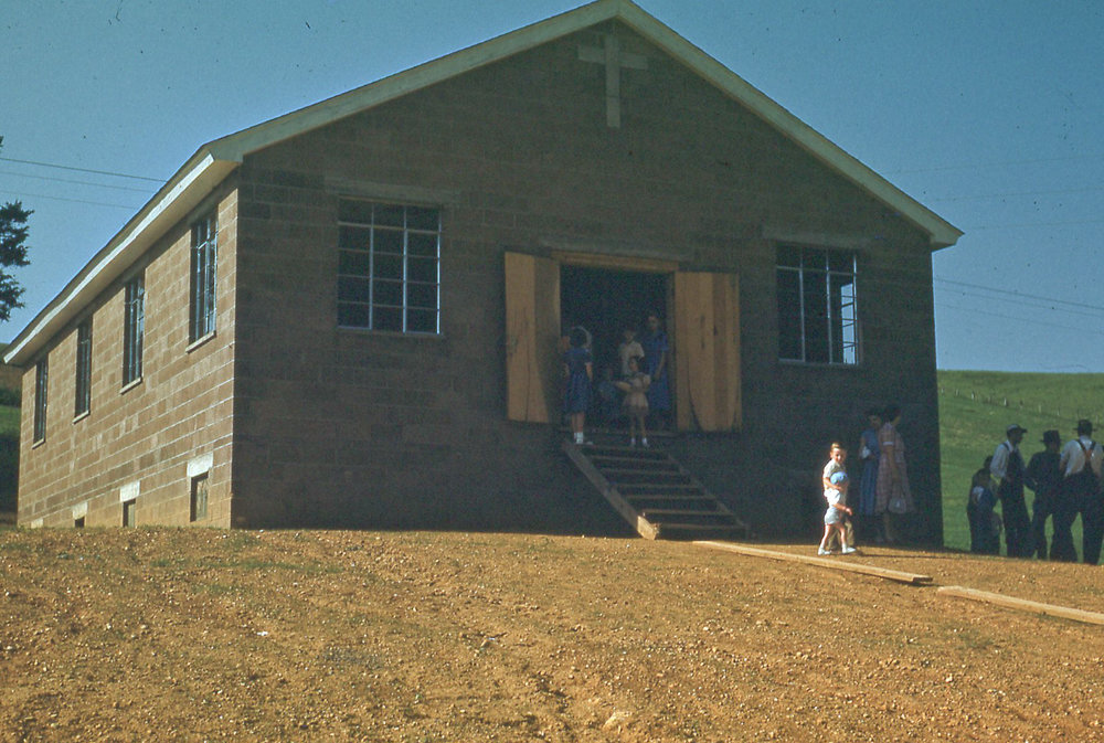 Church in Mulberry Gap, Tennessee (1952)