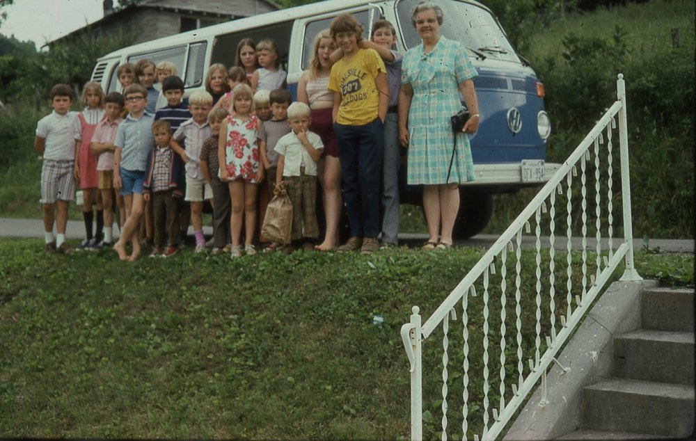 Campers and Van (1974)