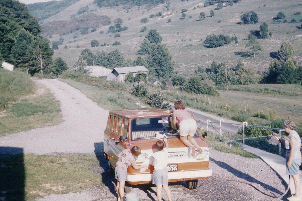 Washing Miss Winnie's Van (1964)