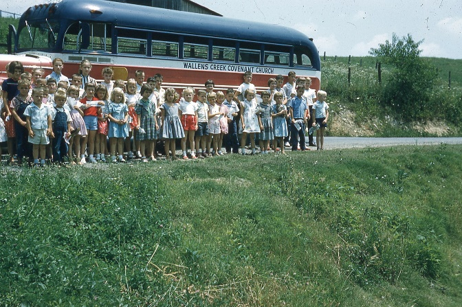 Wallens Creek Sunday School Bus (1958)