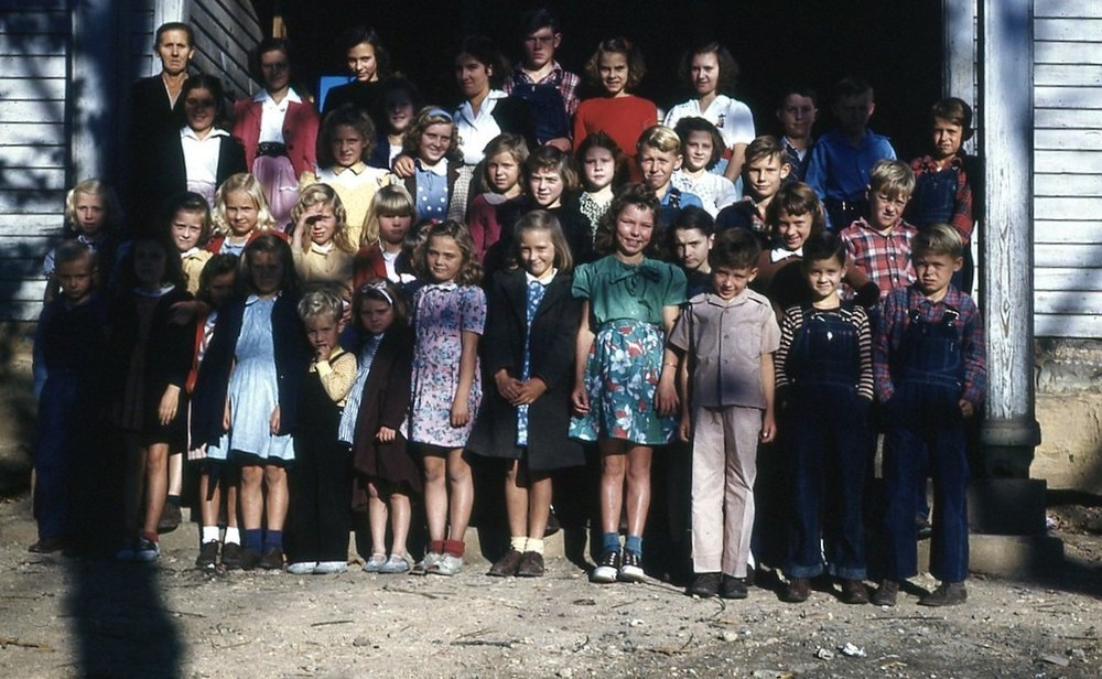 1947 Oak Grove School Class