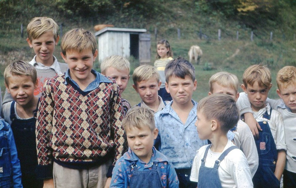 1950 Children at Kemmer Gem School - October