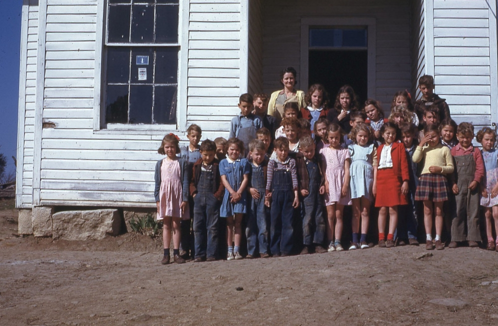 Late 40's Cedar Hill School