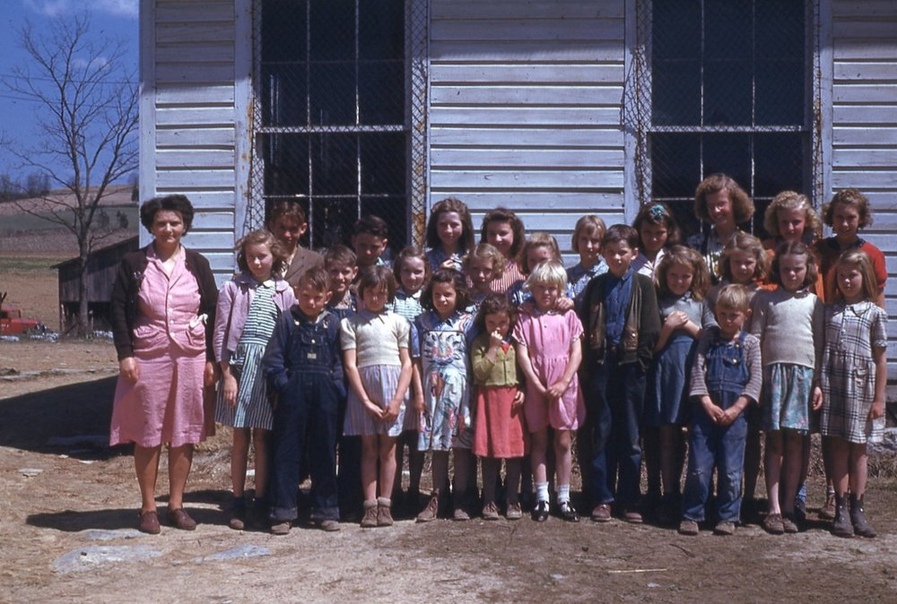 Late 40's Long Hollow School