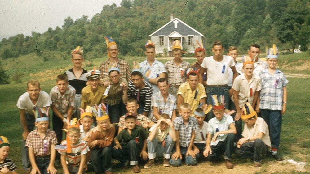 1956 Boys Camp