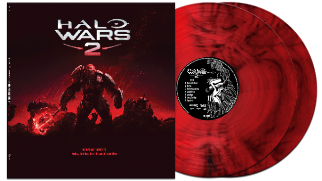 'Halo Wars 2' limited edition double vinyl soundtrack - Physical and digital soundtrack available globally