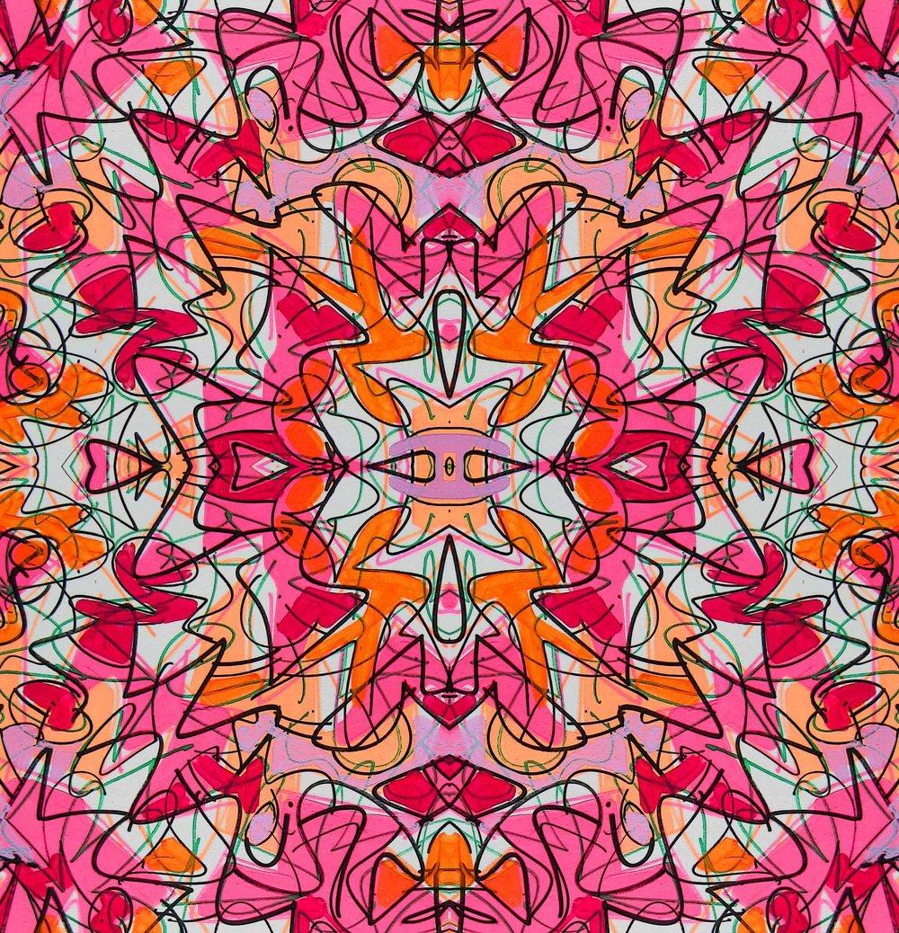 Fleece Mandala