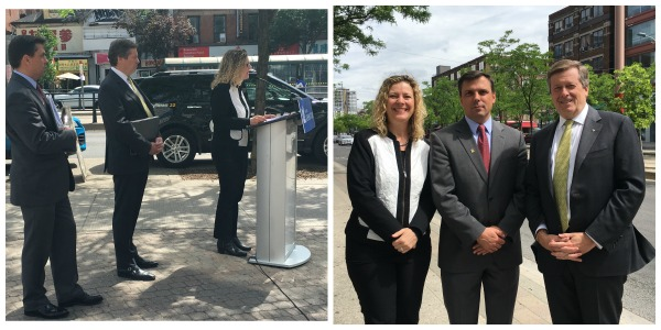 Many thanks to Mayor John Tory and Stephen Buckley, General Manager of Transportation Services, for joining me for the launch of the city's proposed Road Safety Plan.
