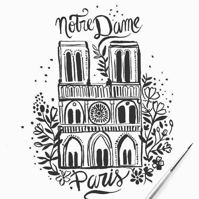 Notre Dame Paris ❤  #loveparis #notredame #tristeza @carpintos