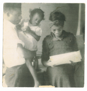 Baldwin, with his Mother and Sister