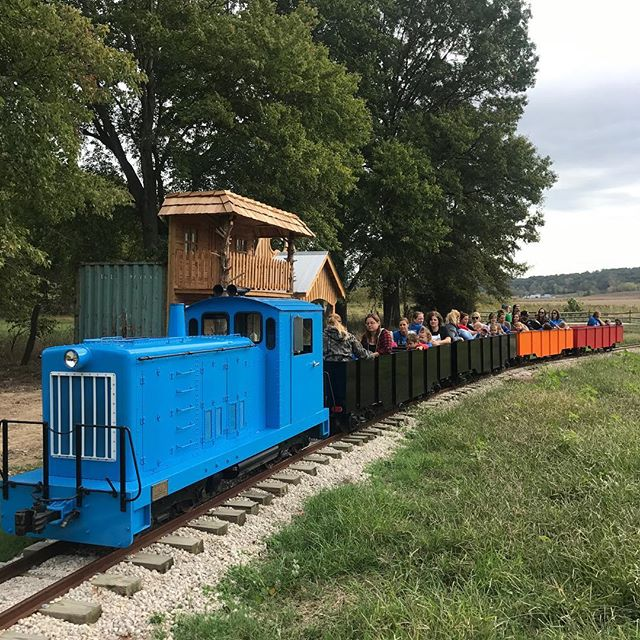 All Aboard!! This weekend we are very excited to be leading with one of our favorite engines. However we need your help naming it!  Comment your ideas, with the winning name receiving FREE pumpkins for you and your family. #larkranch