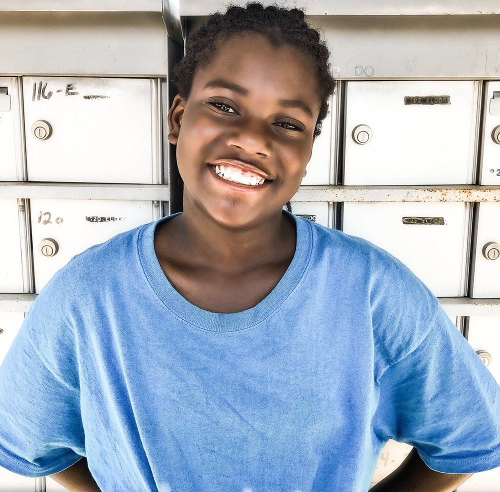 lawryle - Lawryle is 12 years old. She likes playing soccer. This si her first year actually working at KATB. She goes to Fort Morgan Middle School. She loves playing with kids and hanging out with them! She participated with KATB for 2-3 years. She likes listening to music, dancing, and playing gymnastics!