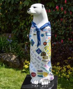 Otter Number 2 Created and Decorated by  Girlguiding Farnham Division  and Sponsored by  South Street Trust