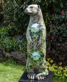 Otter Number 8 Created and Decorated by Charles Bone, PPRI and Sponsored by  Wrights Lions Brewery