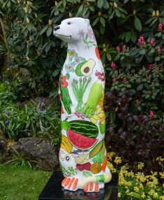 Otter Number 15 Created and Decorated by  St. Mary's School Frensham  and  Sponsored by  Bills Restaurant
