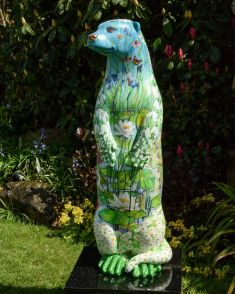 Otter Number 18 Created and Decorated by  Susie Lidstone  for The Hedgehogs and Sponsored by The Hedgehogs