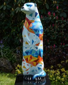 Otter Number 22 Created and Decorated by staff and children at Change of Scene and  Sponsored by Cello Health