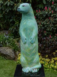 Otter Number 29 Created and Decorated by  David Wright  and  Sponsored by  Vale Furnishers