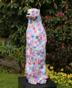 Otter Number 35 Created and Decorated by Abbeyfield Wey Valley Residents Society and Sponsored by  Lions Club of Farnham