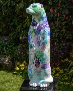 Otter Number 42 Created and Decorated by  the Ridgeway School  and  Sponsored by  B & N Carpets