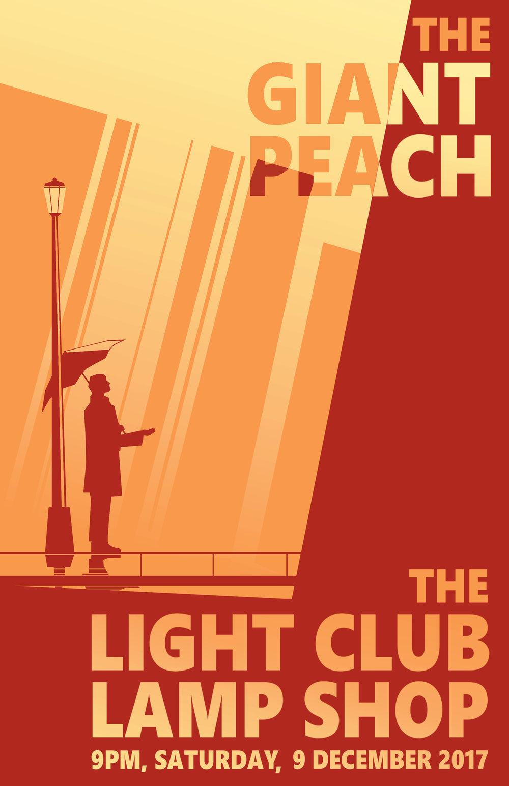 The Giant Peach @ The Light Club Lamp Shop..jpeg